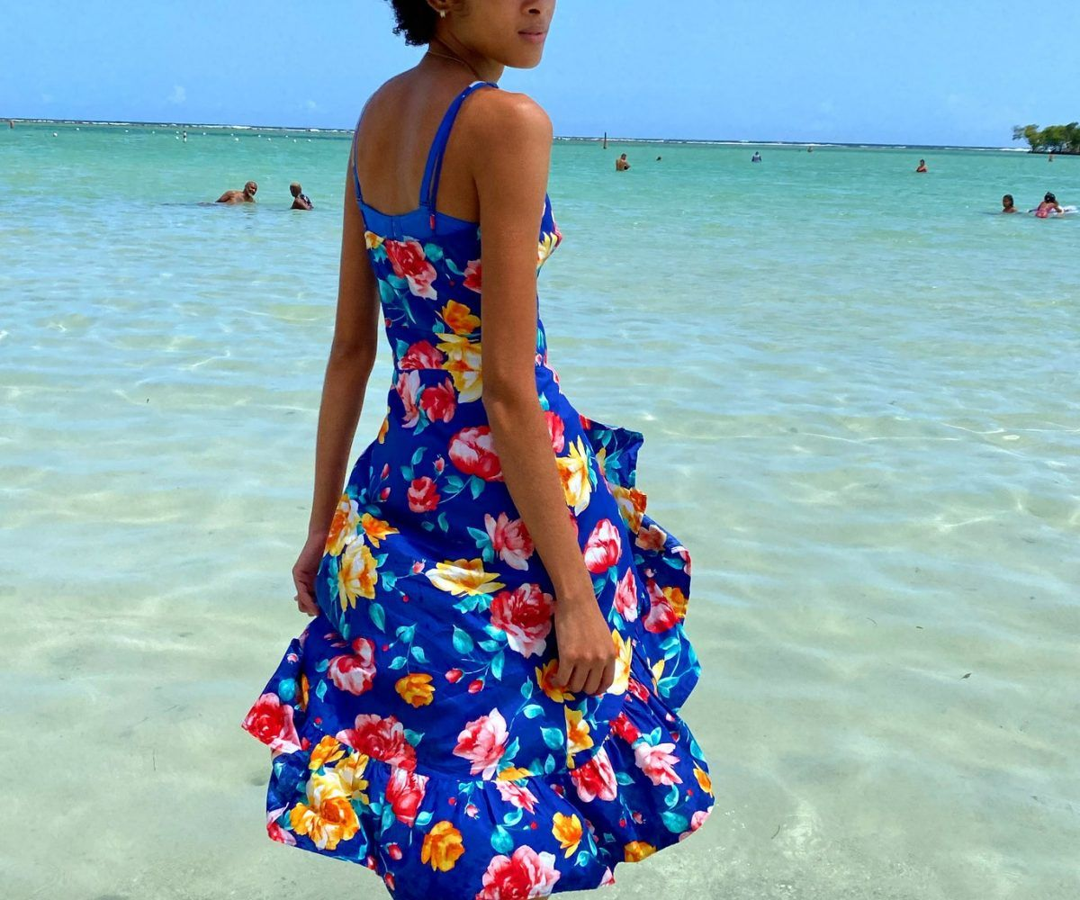 vogue models by dominican republic holiday